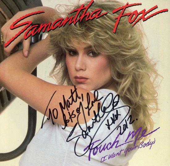 Sam Fox autograph