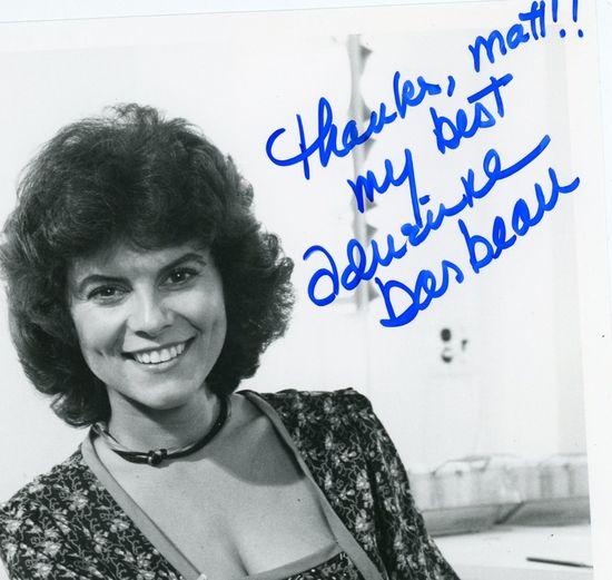 Adrienne Barbeau autograph