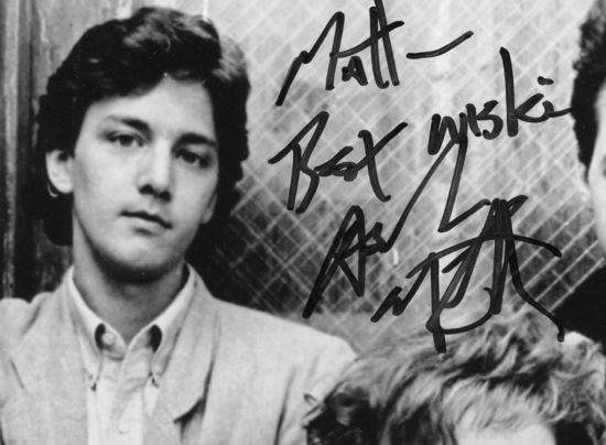 Andrew McCarthy autograph