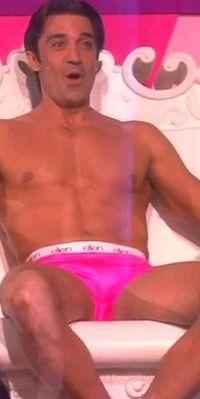 Gilles Marini shirtless underwear Ellen DeGeneres