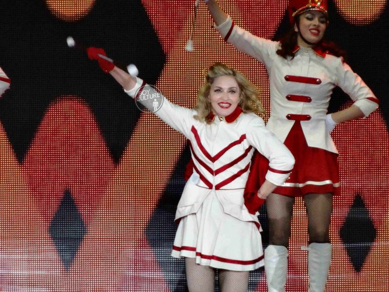 Madonna MDNA Yankee 21