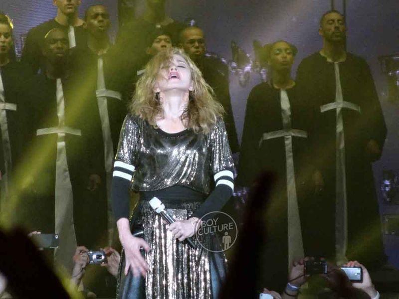 Madonna MDNA Yankee 55