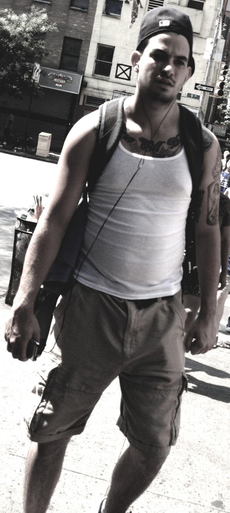 Very sexy tattooed man