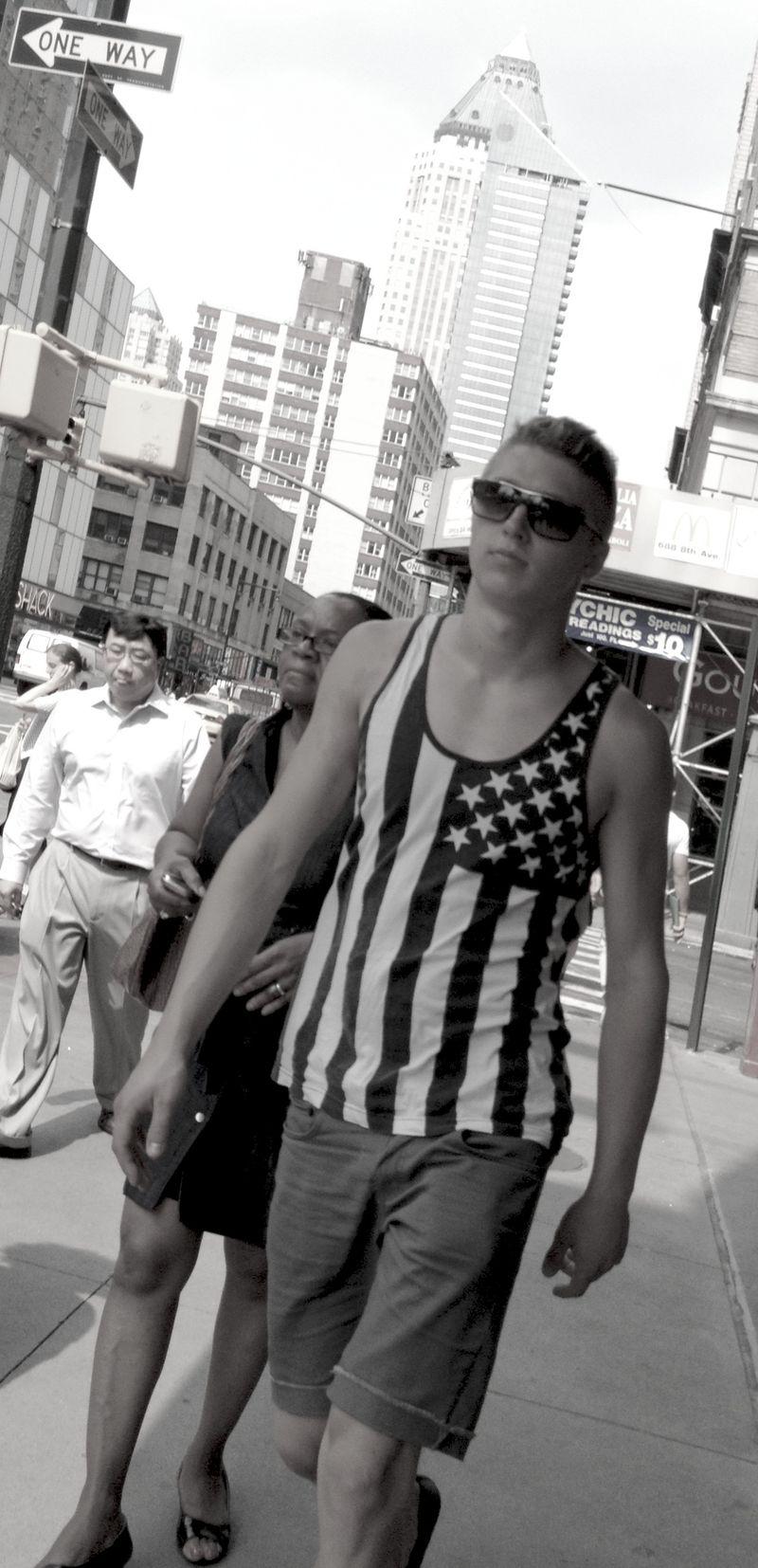 Sexy patriot
