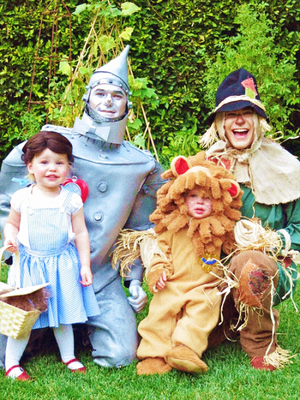 Neil Patrick Harris Burtka family Halloween