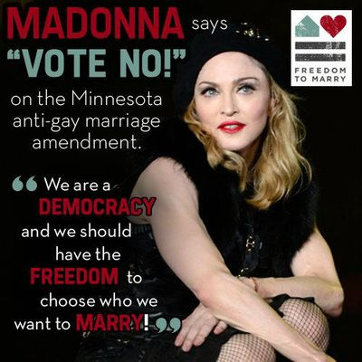 Madonna-Minnesota-marriage-equality
