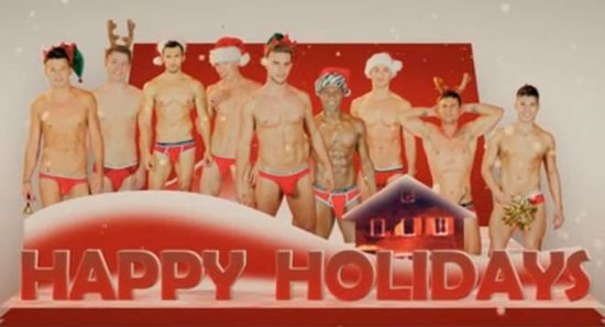 Happy-Holidays-Andrew-Christian-underwear