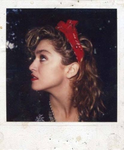 Madonna-rare-Polaroid
