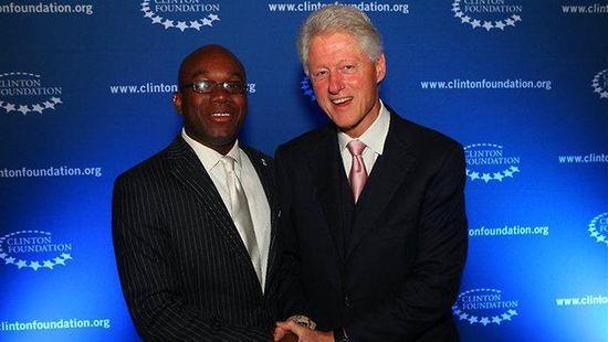 Marco-McMillian-Bill-Clinton