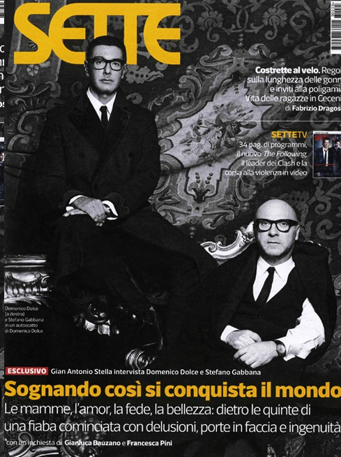 Dolce-and-gabbana-interview-domenico-and-stefano-on-sette-corriere-della-sera