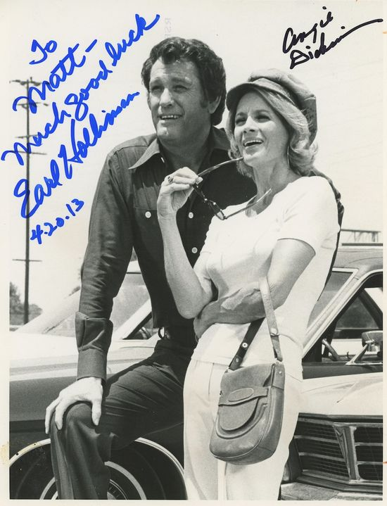 Angie-Dickinson-Earl-Holliman-autograph
