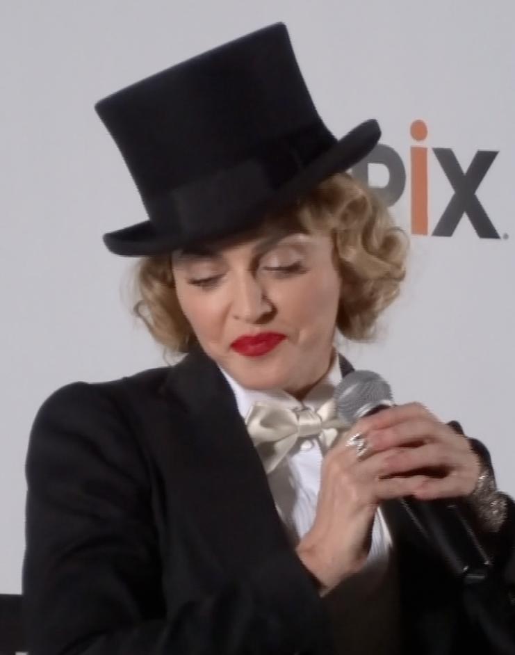 Madonna-shy