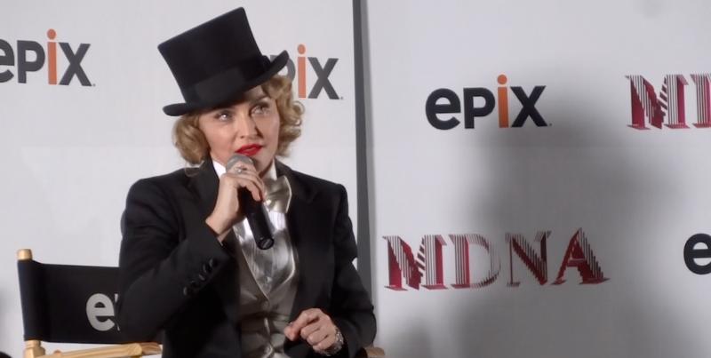 Madonna-thoughtful