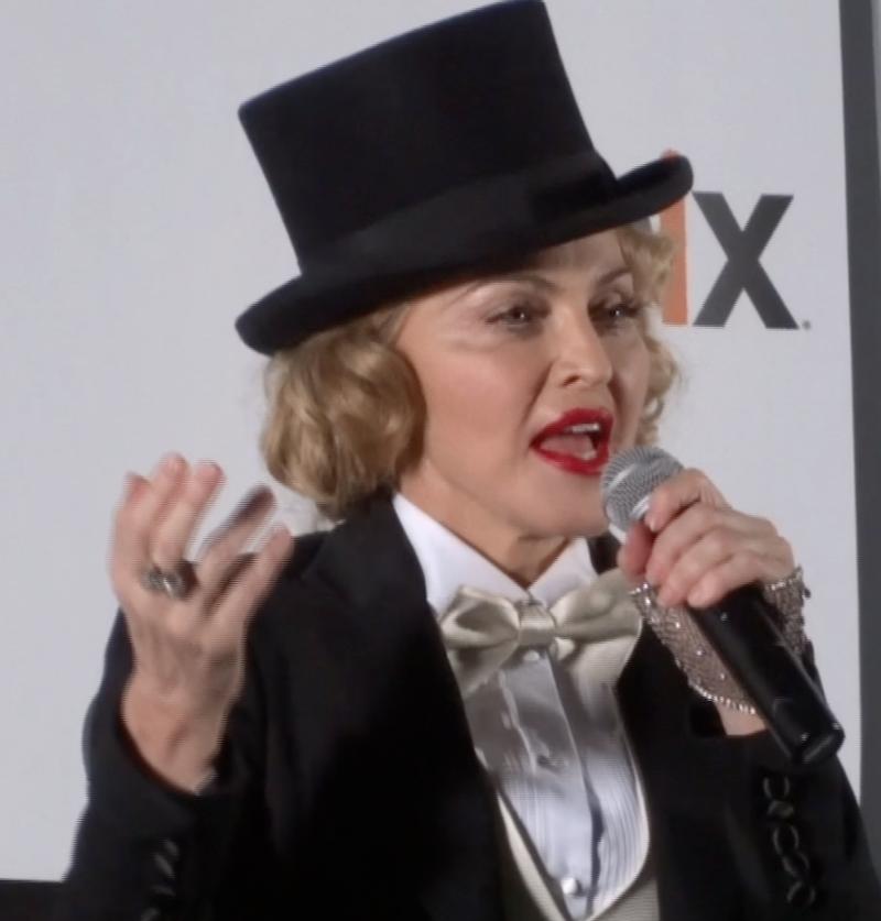 Madonna-speaks