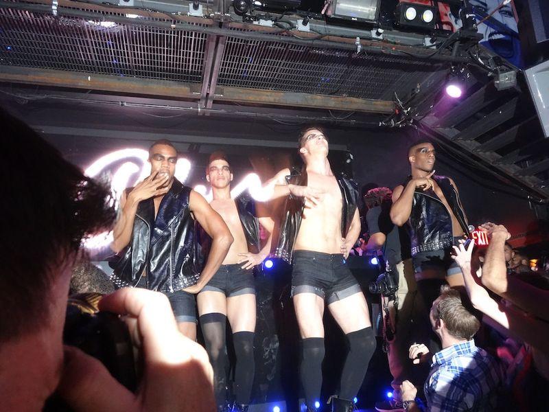 Cher's dancers