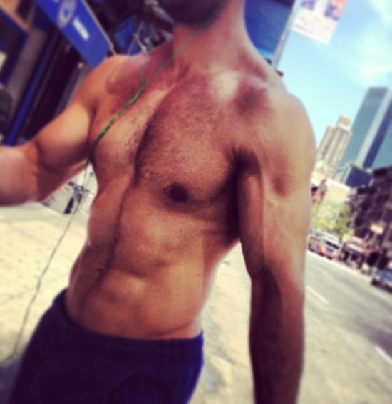 Mattrett-shirtless