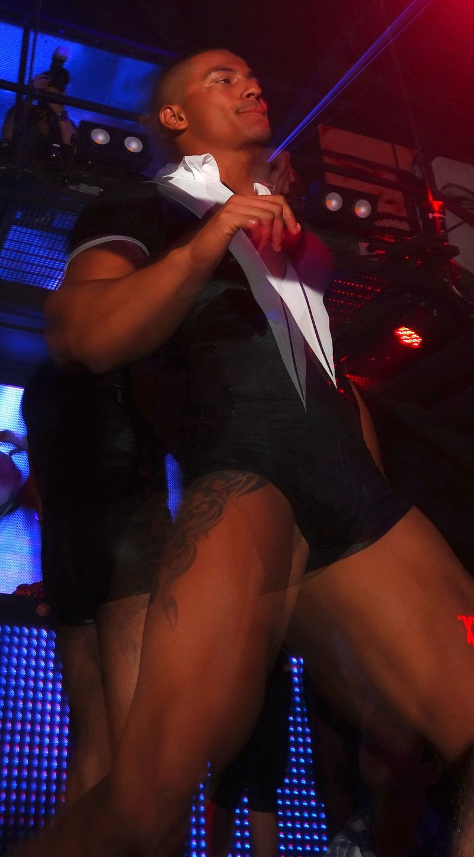 Sexy stripper guy