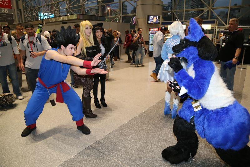Comic con fight