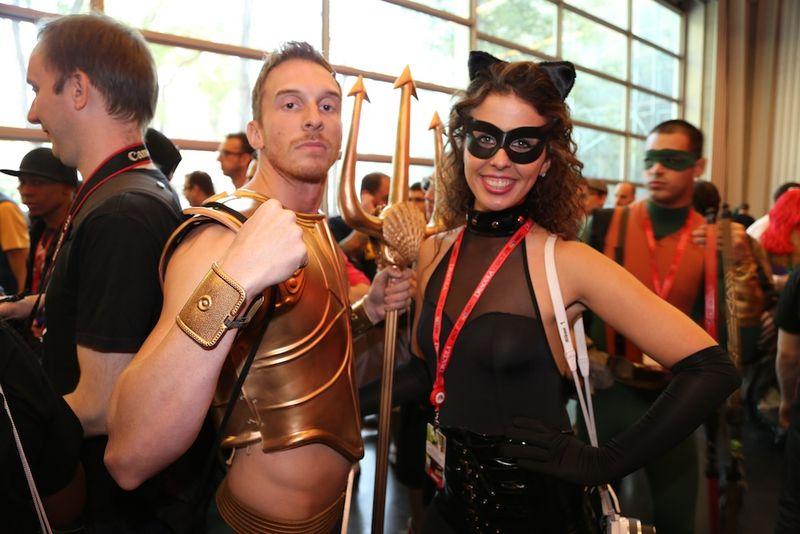 Hot costume comic con