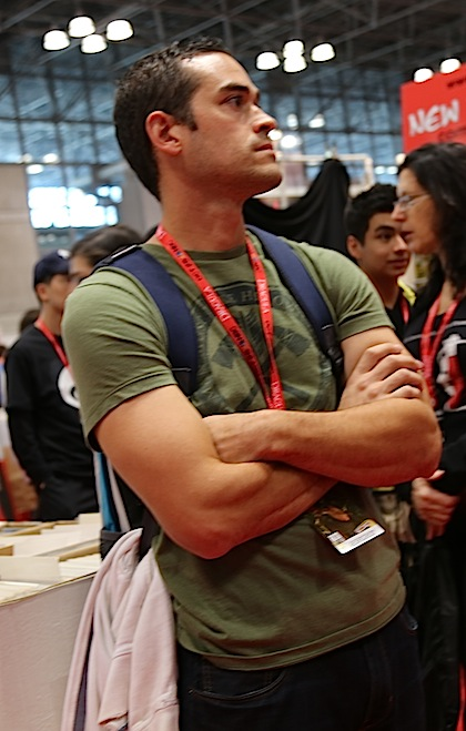Muscles comic con