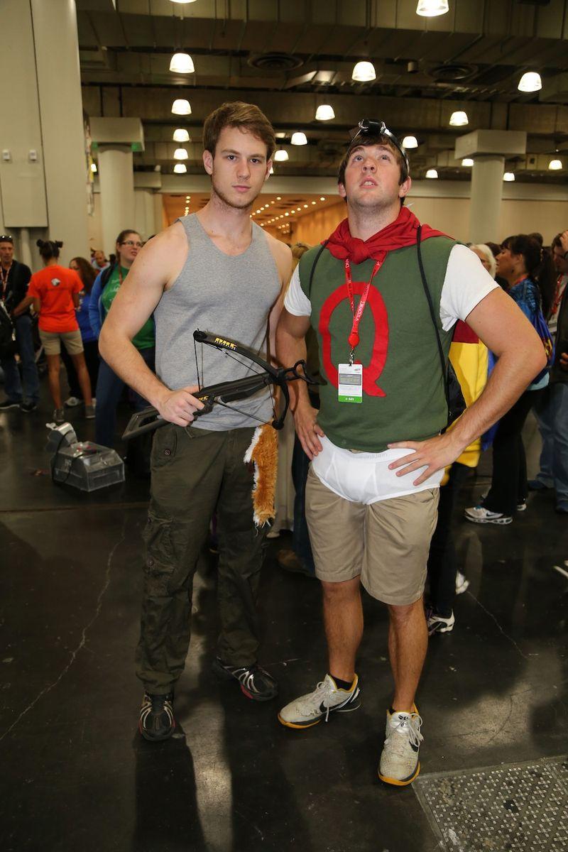 Cute nerds comic con