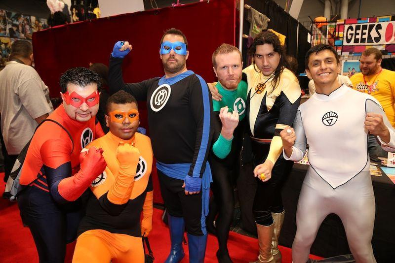 Comic Con group