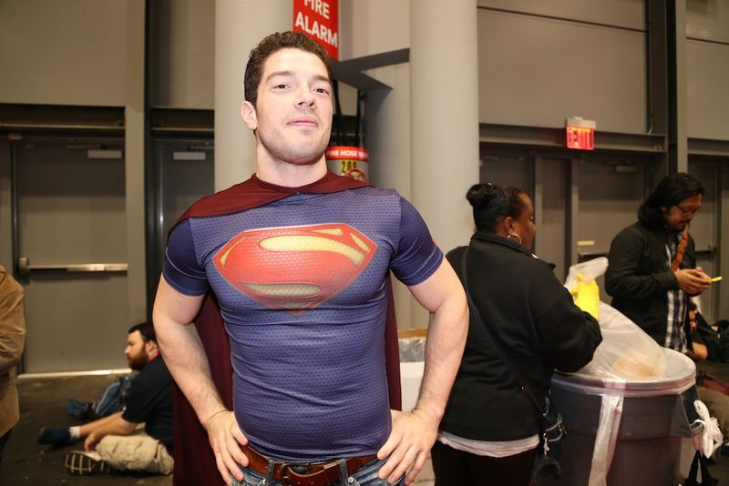 Superman chest