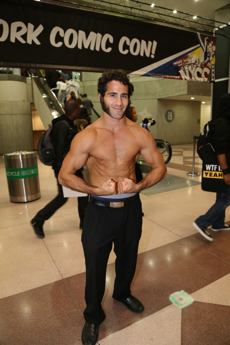 Wolverine 3 Comic Con shirtless