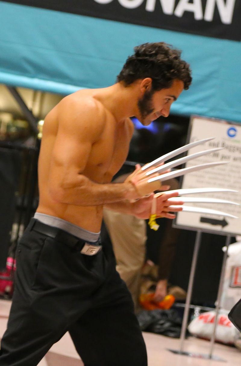Shirtless Wolverine