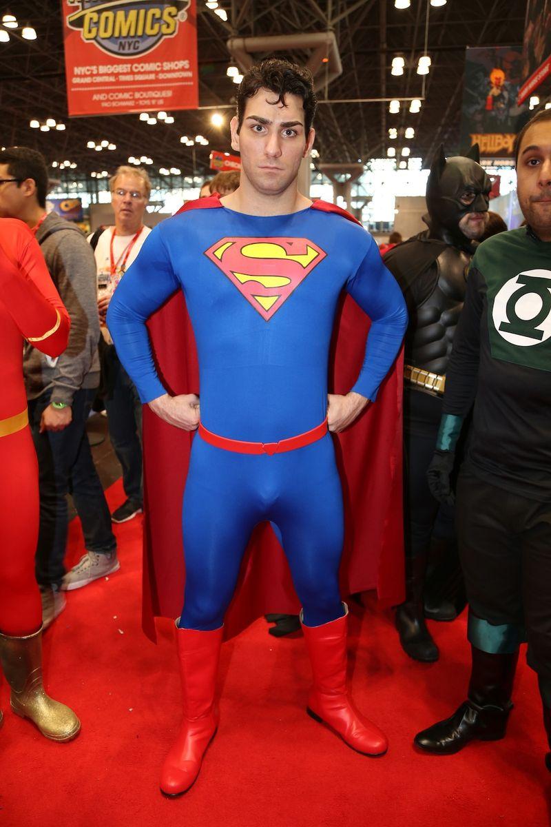 Sexy superman Comic Con