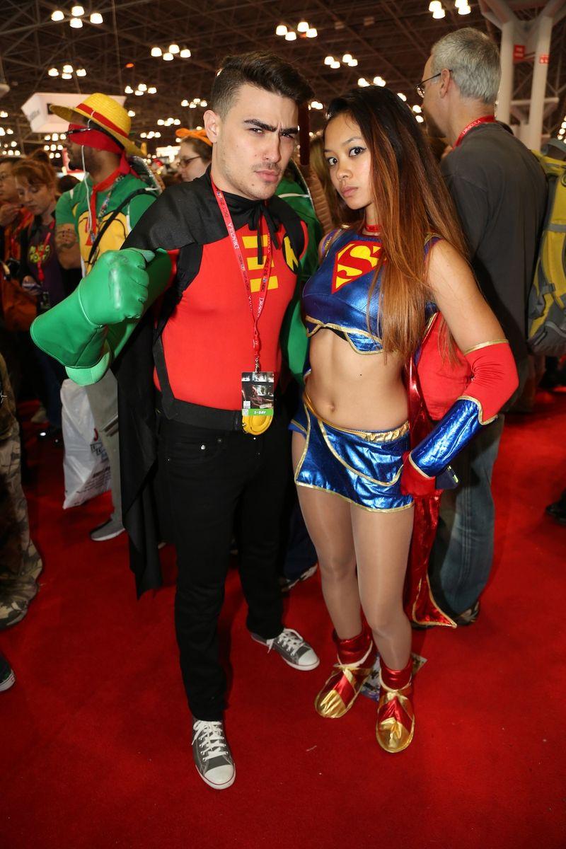 Hot couple comic con