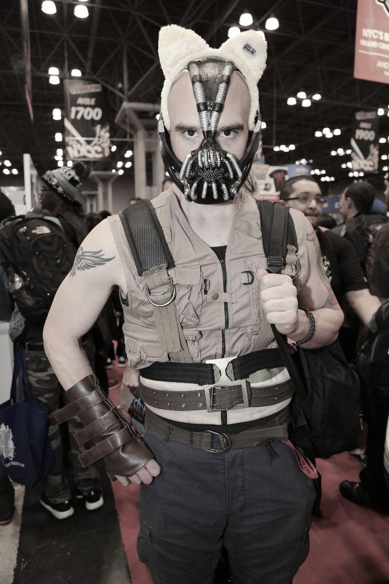 Intense eyes Comic Con