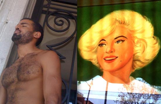 Boy-Culture-Marilyn-Monroe-shirtless