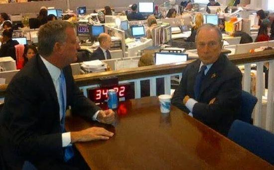 Bloomberg-de-Blasio
