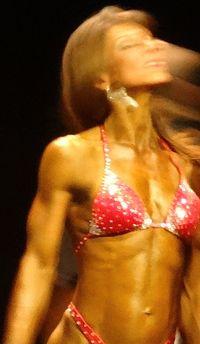 Female bodybuilder DSC00986