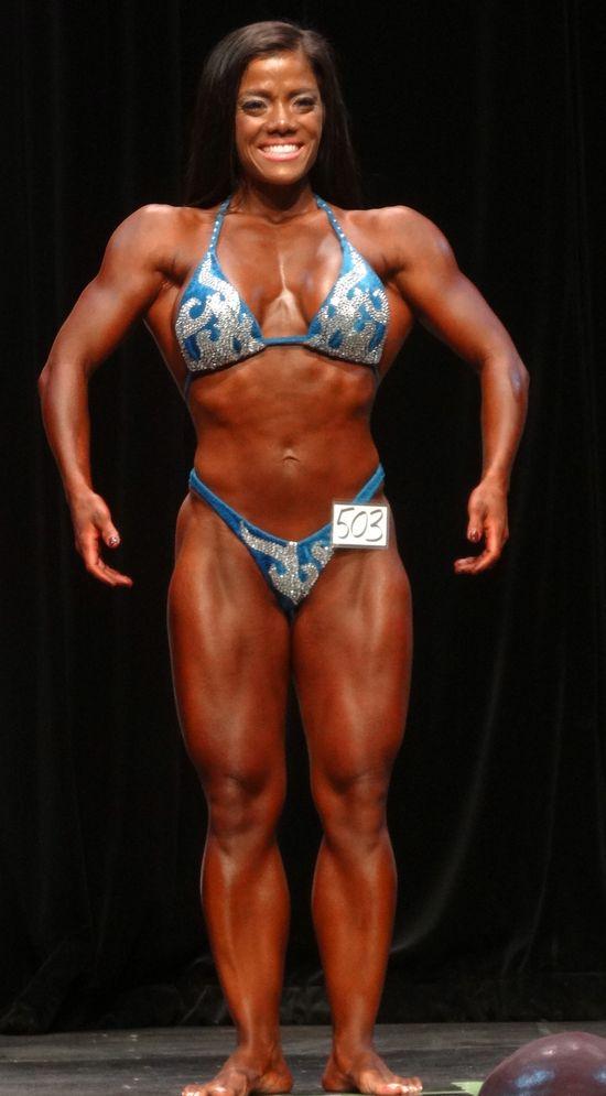 Female bodybuilder DSC01832