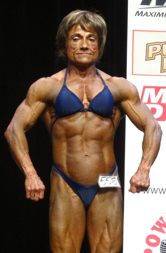Female bodybuilder DSC01848