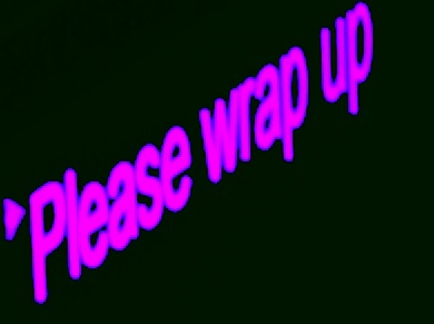 Please-Wrap-Up-sign