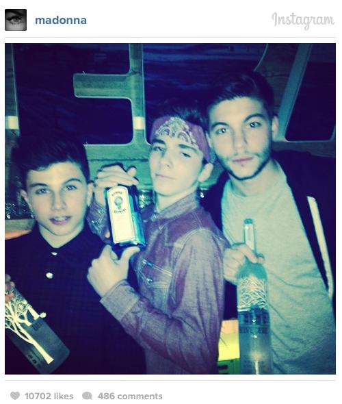 Madonna-liquor