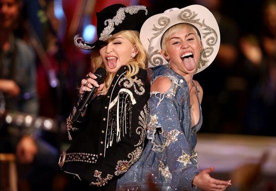 Miley-Cyrus-Madonna