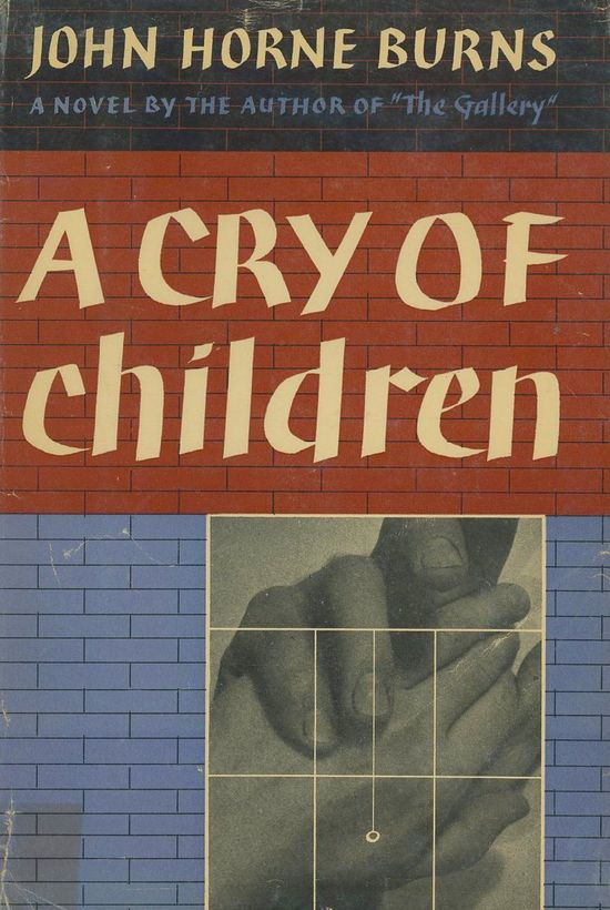 John-Horne-Burns-A-Cry-of-Children-gay-novel