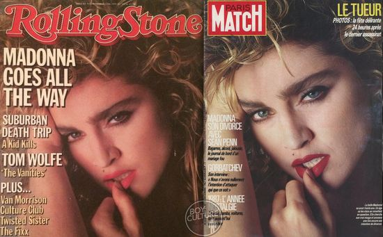 8 Rolling Stone 11 27 84 Paris Match 12 18 87