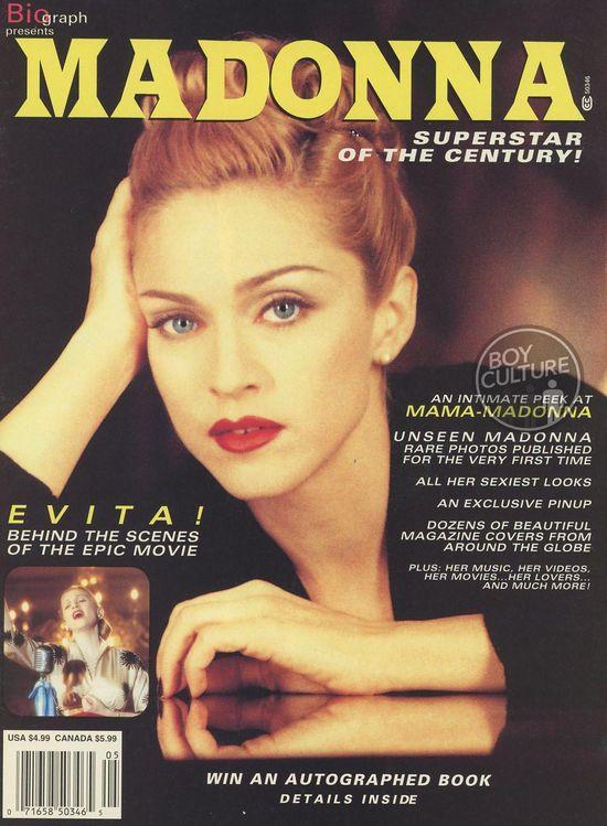 182 Madonna Superstar of the Century 1996 copy