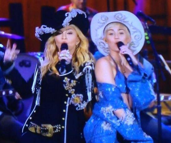 Madonna-Miley
