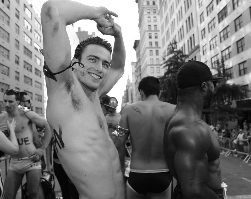 Shirtless-stripper