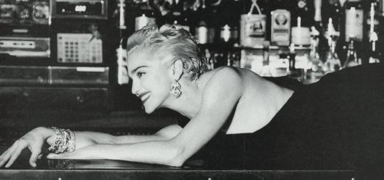Madonna-Helmut-Newton