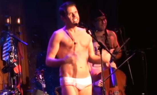 Perez-Hilton-underwear-Grease-musical