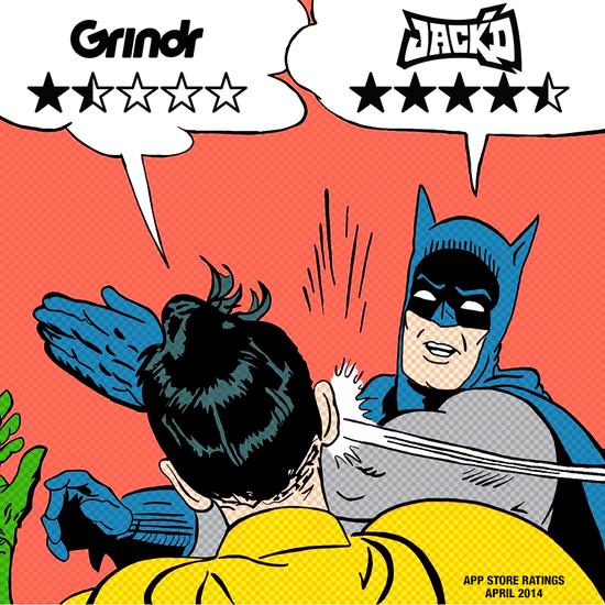 GRINDR VS JACKD