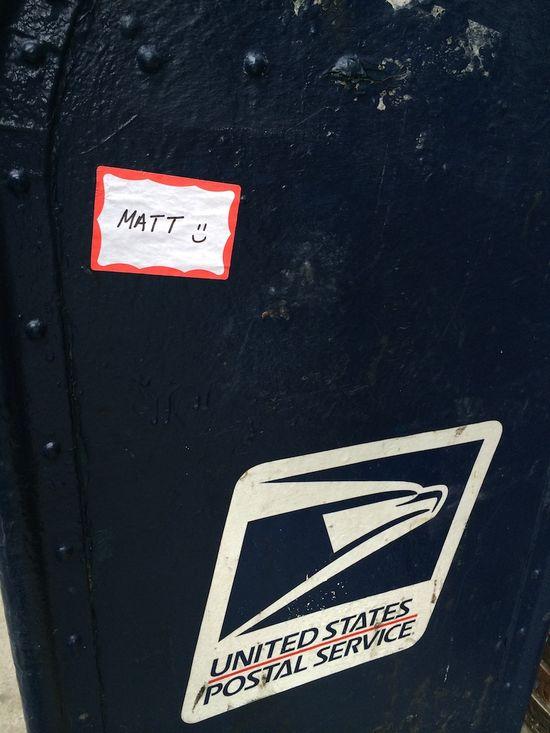 Sign matt