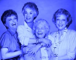 The Golden Girls - Rue, Bea, Estelle & Betty